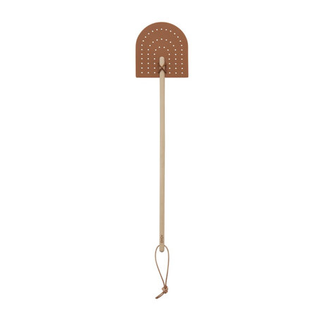 OYOY Fly Swatter Rainbow brown silicone 45x10cm