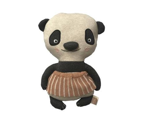 OYOY Hug Lun Lun Panda multicolour textile 28x18cm