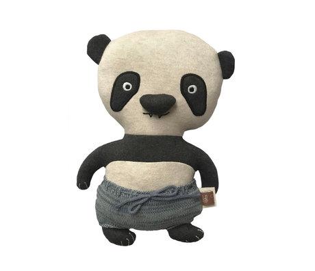OYOY Hug Ling Lung Panda mehrfarbiges Textil 32x16cm