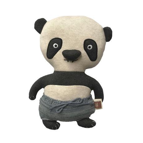 OYOY Hug Ling Lung Panda multicolour textile 32x16cm