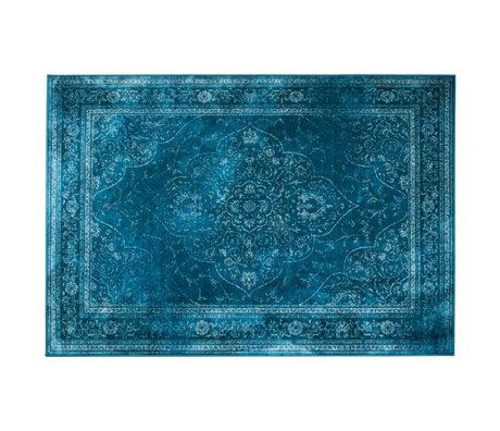 Dutchbone Tapijt Rugged blauw multicolour textiel 200x300cm