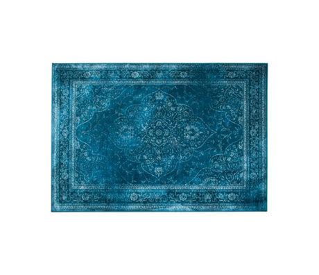 Dutchbone Vloerkleed Rugged blauw multicolour textiel 170x240cm