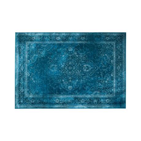 Dutchbone Tapijt Rugged blauw multicolour textiel 170x240cm