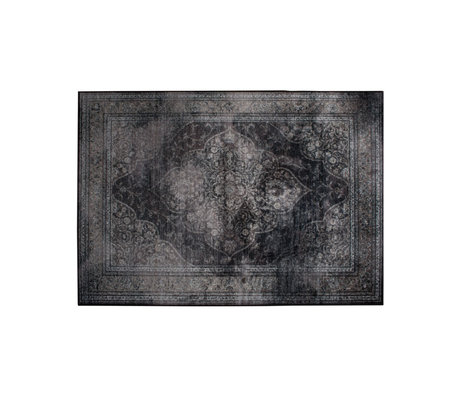 Dutchbone Tapijt Rugged donker multicolour textiel 170x240cm