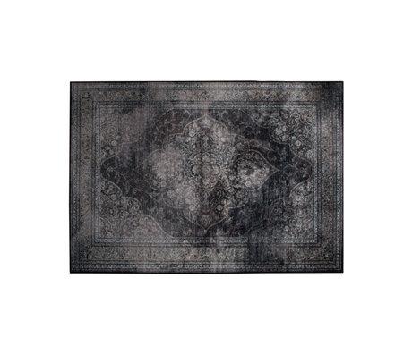 Dutchbone Vloerkleed Rugged donker multicolour textiel 170x240cm