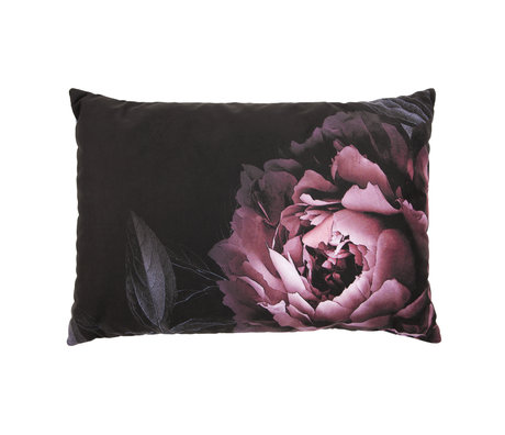 BePureHome Cushion Flower multicolour velvet 40x60cm