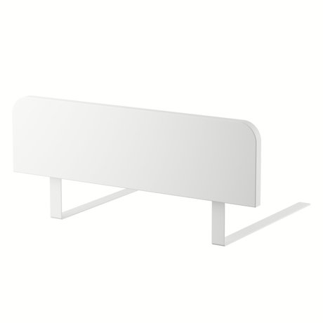 Sebra Barre de lit Junior Grow Classic bois blanc 60x17cm