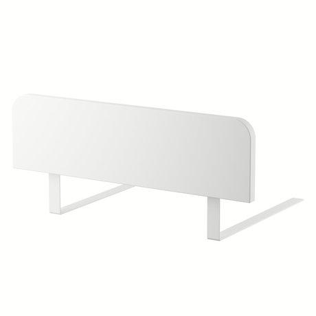 Sebra Bettgitter Junior Grow klassisches weißes Holz 60x17cm