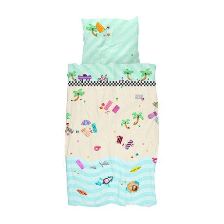 Snurk Beddengoed Duvet cover Clay Beach 100x135cm incl. Pillowcase 40x60cm