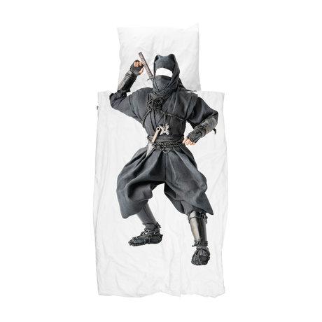 Snurk Beddengoed Dekbedovertrek Ninja 140x200/220 cm incl.  kussensloop 60x70cm