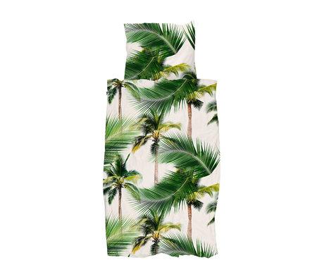 Snurk Beddengoed Duvet cover palm beach 140x200 / 220 cm incl. Pillowcase 60x70cm