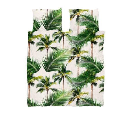 Snurk Beddengoed Housse de couette Palm Beach 200x200 / 220 cm avec 2 taies d'oreiller 60x70cm