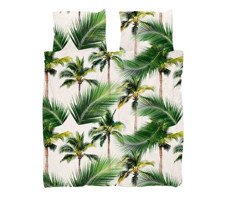 Snurk Beddengoed Housse de couette Palm Beach 240x200 / 220 cm avec taie d'oreiller 60x70cm