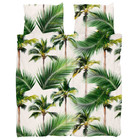 Snurk Beddengoed Dekbedovertrek palm beach 260x200/220 cm incl. 2 kussenslopen 60x70cm