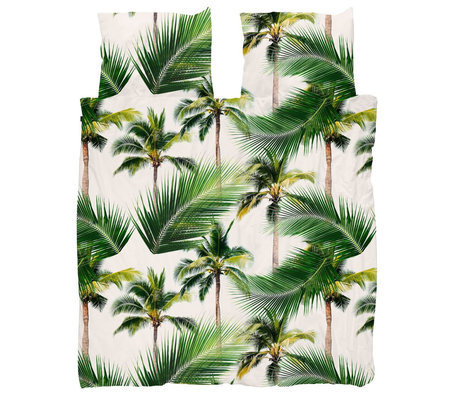 Snurk Beddengoed Housse de couette Palm Beach 260x200 / 220 cm avec 2 taies d'oreiller 60x70cm