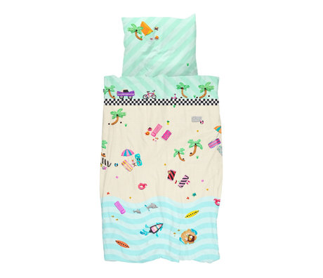 Snurk Beddengoed Duvet cover Clay Beach 140x200 / 220cm incl. Pillowcase 40x60cm