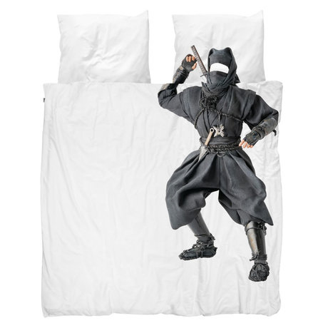 Snurk Beddengoed Bettbezug Ninja 240x200 / 220 cm inkl. 2 Kissenbezüge 60x70cm