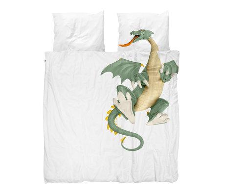 Snurk Beddengoed Housse de couette Dragon 200x200 / 220cm avec 2 taies d'oreiller 60x70cm