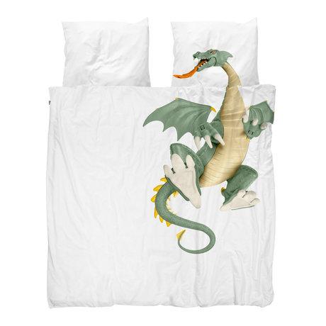 Snurk Beddengoed Bettbezug Dragon 200x200 / 220cm inkl. 2 Kissenbezüge 60x70cm