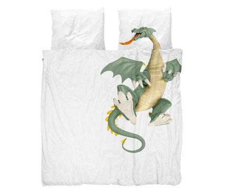 Snurk Beddengoed Housse de couette Dragon 240x200 / 220cm avec 2 taies d'oreiller 60x70cm