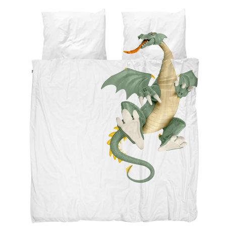 Snurk Beddengoed Duvet cover Dragon 240x200 / 220cm incl. 2 pillowcases 60x70cm