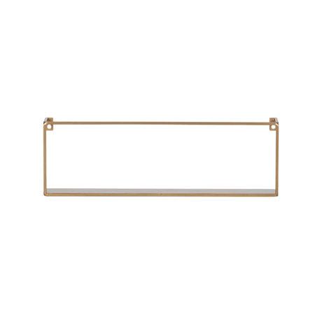 LEF collections Wandregal Meert Gold Eisen 16x50x8cm