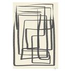 Paper Collective Poster Verschiedene Möglichkeiten I - Schwarz beige schwarzes Papier 50x70cm