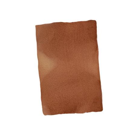 Paper Collective Affiche Ensõ - Papier blanc brun brûlé II 50x70cm