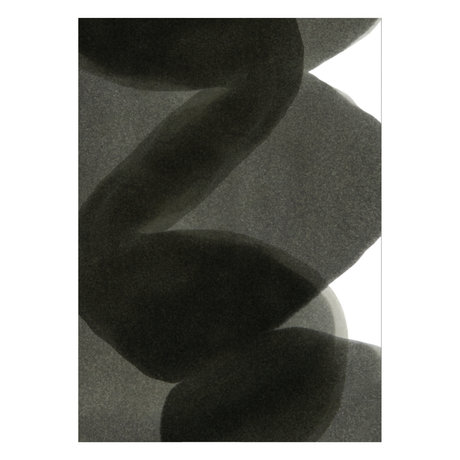 Paper Collective Poster Ensõ  - Black II zwart wit papier 50x70cm