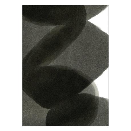 Paper Collective Poster Ensõ - Schwarz II schwarz weiß Papier 50x70cm