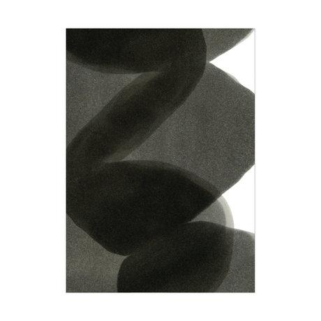 Paper Collective Poster Ensõ - Black II black white paper 30x40cm