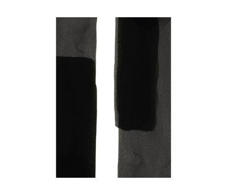 Paper Collective Affiche Ensõ - Noir I papier blanc noir 30x40cm