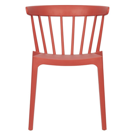 LEF collections Chair Bliss pink plastic 52x53x75cm