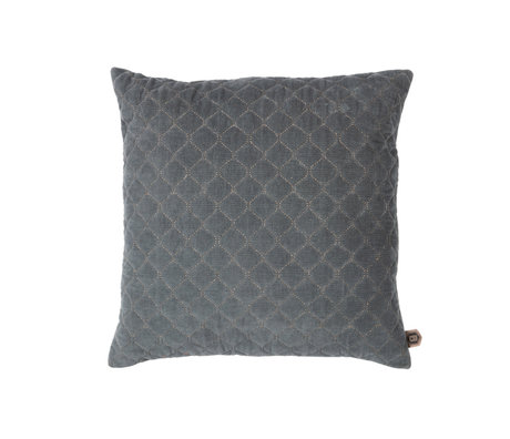 BePureHome Cushion Contact gray cotton 48x48cm