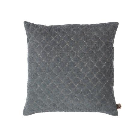 BePureHome Coussin Contact coton gris 48x48cm
