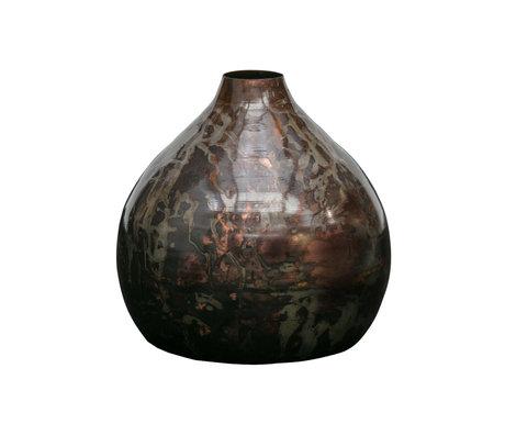 BePureHome Vase Sludge mehrfarbiges Metall Ø32cm