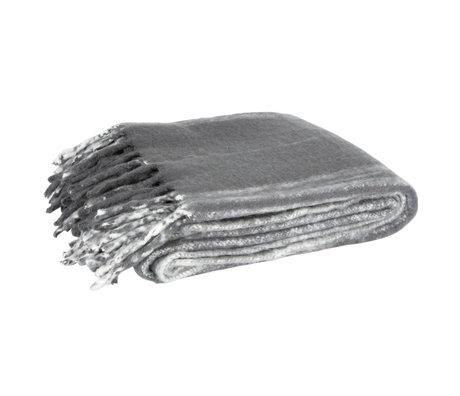 LEF collections Jeté textile Ferre gris 130x170cm