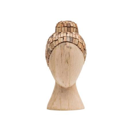 BePureHome Ornament Zeuge natürliches braunes Mangoholz 31x15x15cm