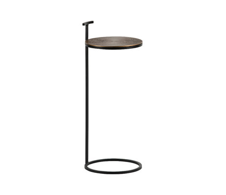 BePureHome Side table position antique brass gold iron aluminum 64x26x26cm