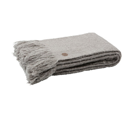BePureHome Throw Sense khaki braunes Textil 130x170cm