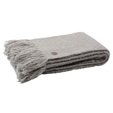 BePureHome Throw Sense textile marron kaki 130x170cm