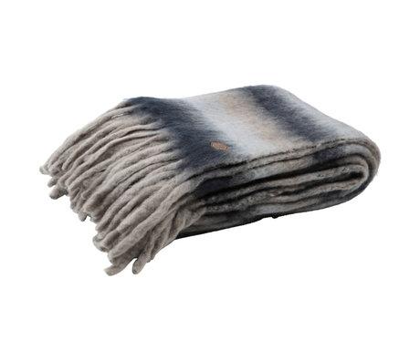 BePureHome Plaid Textile multicolore doux 130x170cm
