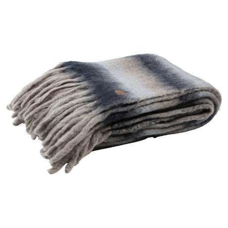 BePureHome Plaid Weiches mehrfarbiges Textil 130x170cm