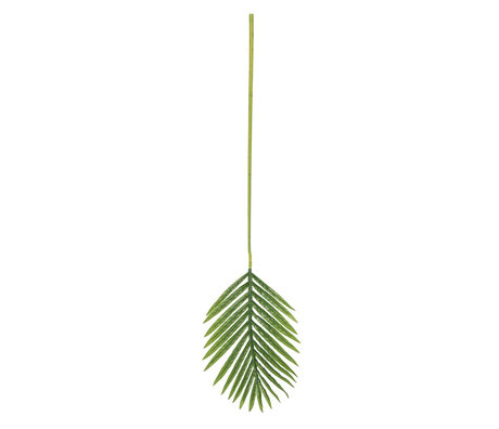 LEF collections Art leaf Palm green plastic 91x26cm