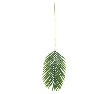 LEF collections Art leaf Palm green plastic 110x34cm