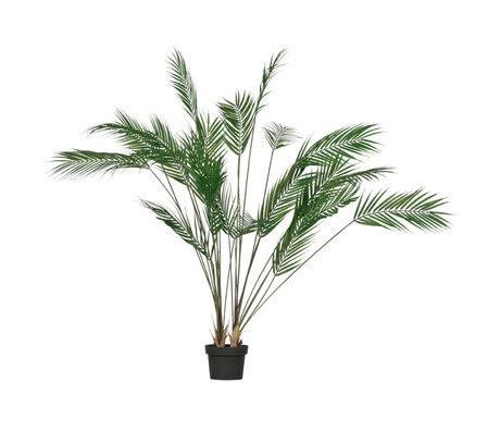 LEF collections Kunstplant Palm groen kunststof 75x75x110cm