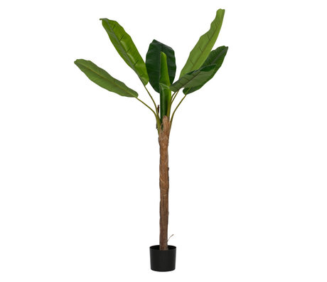LEF collections Artificial plant Banana plant green plastic 100x100x180cm