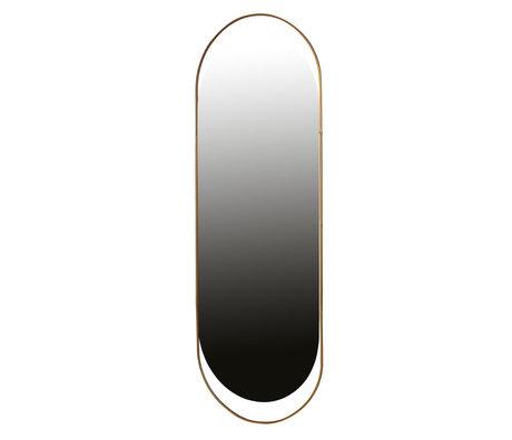 LEF collections Mirror Sanou antique brass gold iron 168x60x1