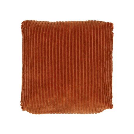 BePureHome Edge Kussen Fluweel Brick 45x45