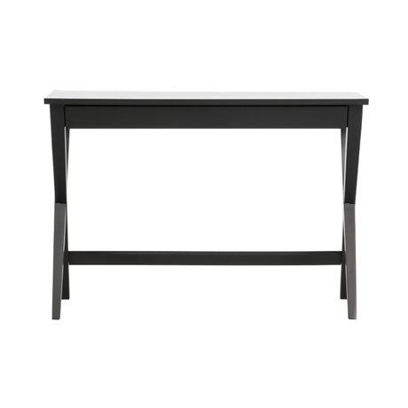 LEF collections Bureau Mia bois noir 75x110x55cm